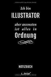 Notizbuch fuer Illustratoren / Illustrator / Illustratorin: Originelle Geschenk-Idee [120 Seiten kariertes blanko Papier]