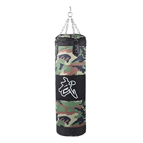 Hbao Boxsandbeutel hängen Verdicken Boxtraining Boxsack Fitnessstudio Fitness Boxsack Leerer Boxsack (Color : A, Size : 80cm)