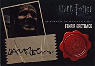 Harry Potter Deathly Hallows Part 2 Autograph Card by Dave Legeno