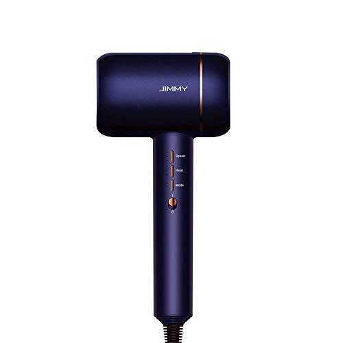 JIMMY F6 Asciugacapelli ultrasonico con Nano-ioni e controllo del calore (Starry Purple)