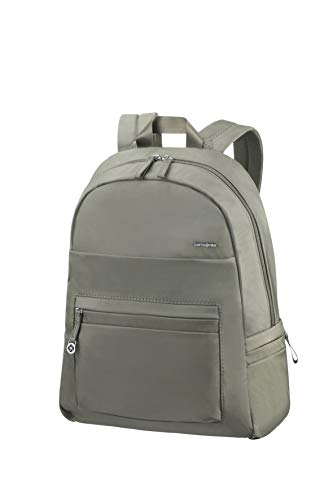 "SAMSONITE - Move 2.0 Backpack 14.1"", Bolsos Mochila Mujer, Verde (Gunmetal Green), 12x40.5x30 cm (B x H T)"