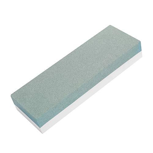 Festnight Premium-Schleifsteinschärfer mit Körnung 1000/4000, Schleifstein für alle k-lingen, rutschfester Grundschneider