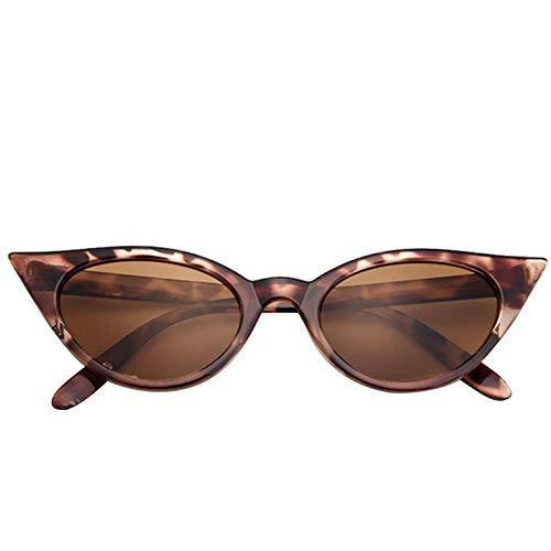 Moda Mujeres Señoras Ojo De Gato Clásico Estilo Vintage Rockabilly Gafas De Sol Gafas De Sol Gafas De Ojo Mujer Gafas Accesorios