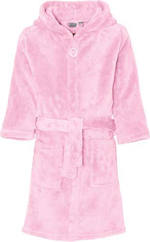 Playshoes Kinder-Unisex Fleece Uni Bademantel, Rosa (Rosa 14), 134/140