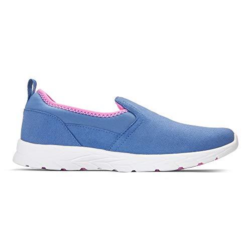 Vionic Women's Brisk Eva Slip On Walking Sneaker Indigo Medium 10 US