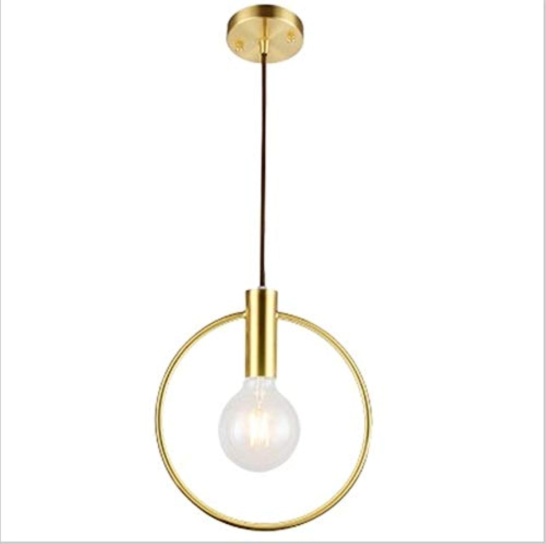 Pendelleuchte,Nordic Restaurant Pendelleuchte Einzelkopf Pendelleuchte Kreative Bar Lichter LED Postmodern Restaurant Nachttischlampe, Durchschnittliche Lebensdauer 20000 (h)