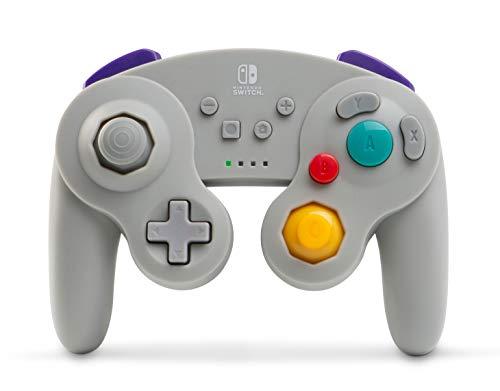 PowerA Kabelloser Controller für Nintendo Switch - GameCube-Stil Grau