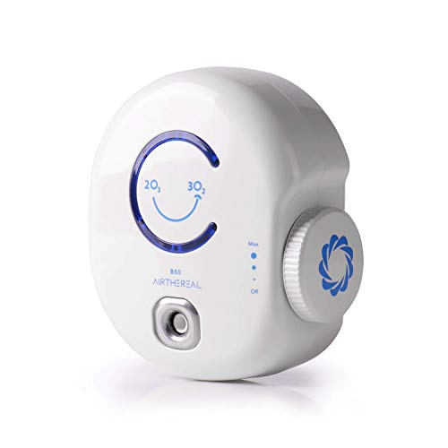 Airthereal B50 Mini Ozone Generator Plug-in Air Purifier, Portable O3 Machine Odor Eliminating Cleaner for Small Rooms