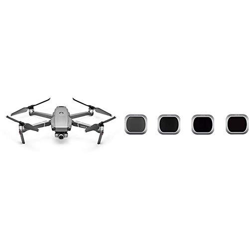 DJI Mavic 2 Zoom - Drone con Zoom Óptico 24-48 mm + Juego de Filtros Pro ND 4/8/16/32