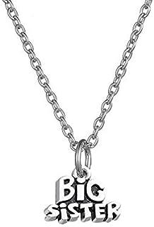 Myshape Message Big Sister Pendant Necklace