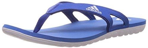 adidas Herren 5m Calo 5M Flip Flops-Blue/weiß, Größe 10, Herren, Calo 5 M, blau/weiß