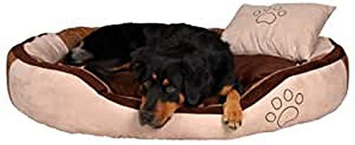 Trixie 37722 Bett Bonzo, 80 × 65 cm, beige/braun