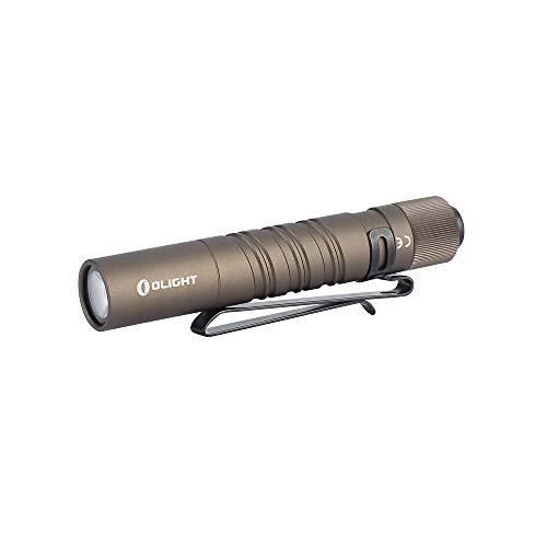 OLIGHT I3T EOS 砂漠色 180ルーメン ミニ軽量 懐中電灯 LUXEON TX CW LED搭載 テールスイッチ フラッシュライト 2モード タクティカル ハンディライト 1.5V 単4電池