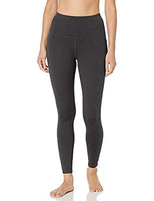 Skechers womens Go Flex Go Walk High-waist Leggings 2.0 Yoga Pants, Charcoal, 24 US