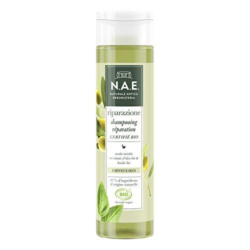 N.A.E. - Shampooing Cheveux Secs Certifié Bio - Formule Vegan - 250 ml