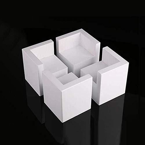FCXBQ 4 * Tischbeine erhöht Holzblock - Couchtisch Pad Bettauflage Pad - Massivholz Sofa Tischauflage Beine verstellbare Erhöhung Pad ^ ^
