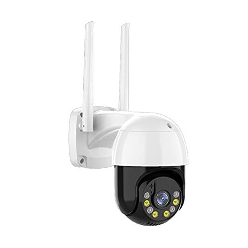 SUN JUNWEI 3MP PTZ WiFi Fotocamera IP Outdoor 4X Digital Zoom Digital Night Color a Colori Wireless H.265 P2P Security CCTV Camera Two Way Speak Audio