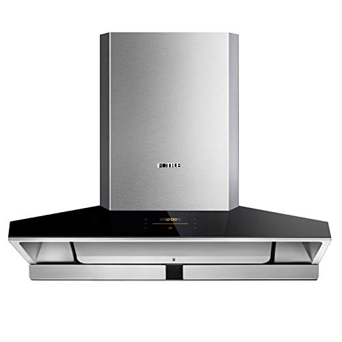 FOTILE EMG9030 36' Wall-mount Range Hood | Touchscreen | 4 Speed-settings and Air Management...