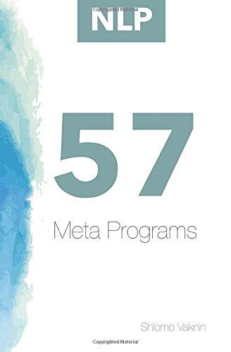 Nlp: 57 Meta-Programs