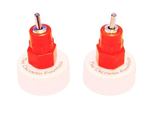 The Chicken Fountain Brooder Bottle Cap - Set