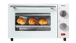 Silva Homeline MB 9500 MB 9500 Minibackofen, 100-230° C regelbar, inklusive Backblech, Grillrost und Zange, 650, Edelstahl, 9 liters, creme