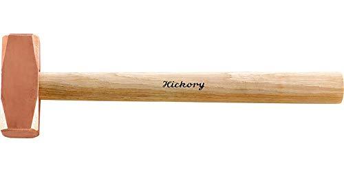 Format 7668050501–American Hickory-Holzstiel Hammer Kupfer (500g).