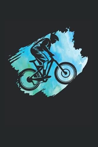 Notizbuch: Mountainbike Rennen Jungen Outdoor Radfahren Notizbuch DIN A5 120 Seiten für Notizen Zeichnungen Formeln | Organizer Schreibheft Planer Tagebuch