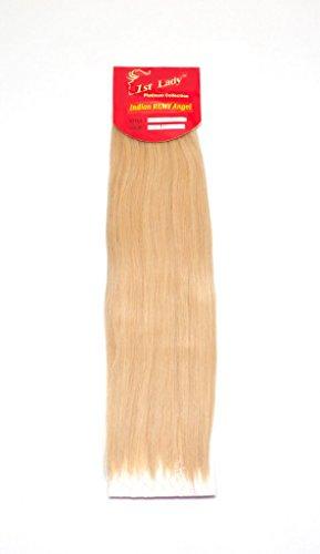 45,7 cm Premium indien Ange 100% Remy Extension de cheveux humains tissage 113 g # S11 (# 68)