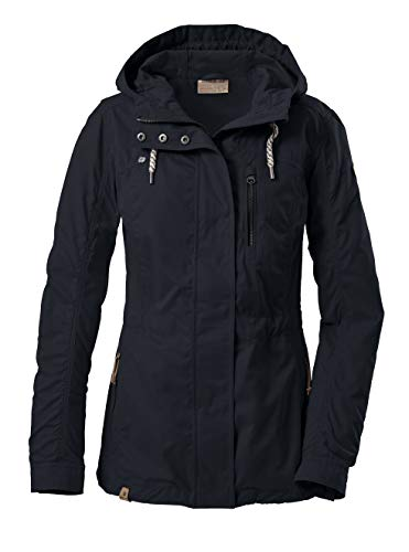 G.I.G.A. DX Damen Jacke/ Übergangsjacke mit Kapuze Helder WMN JCKT B, dunkelnavy, 44, 36747-000