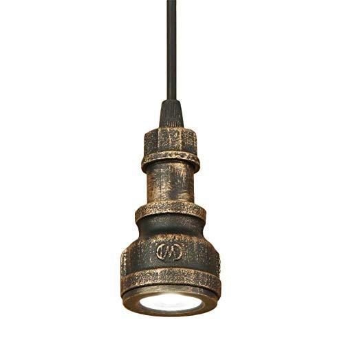 Lámparas de araña, luces de techo Retro alve la lámpara de la antigüedad del hierro que cuelga luces de dormitorio Sala Baño Cafe Bar Hotel Alameda