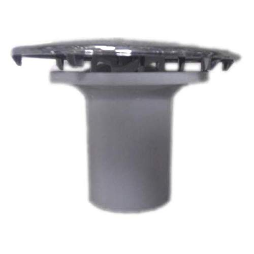Valentin - Capot Laiton Chromé avec tube garde d'eau pour bonde diamètre 90mm
