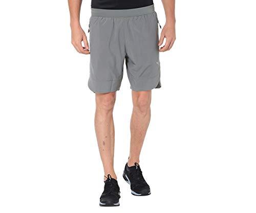 PUMA 516269 02 Short Homme, Vert kaki, FR : XL (Taille Fabricant : XL)