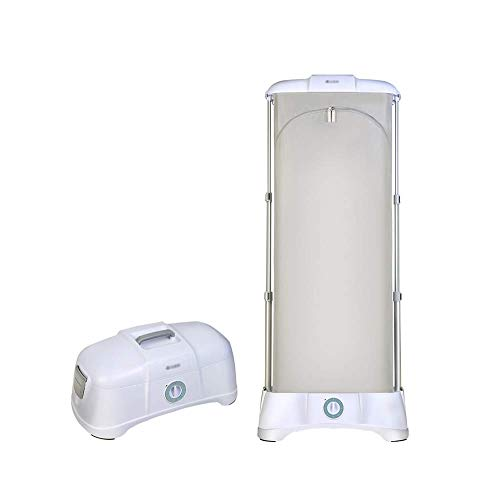 Portable Clothes Dryer Hanger Electric Clothes Dryer Wardrobe Ventilated Hot Air Suitable for Dry Quick Drying Heated Clothes
