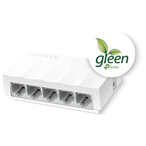 TP-Link LS1005 - Switch Ethernet de 5 Puertos (10/100Mbps,...