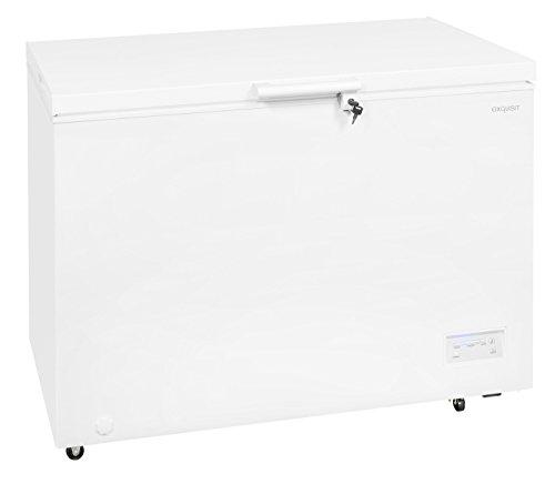 Exquisit Congélateur GT 320-4 EA++ | Partie congélateur 316 L | 84,5 cm | Commande numérique | Blanc