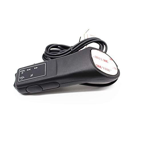 KCSAC Control remoto universal Botón de volante de automóvil Control remoto Navegación de automóviles DVD / 2 DIN Android/Window Bluetooth inalámbrico