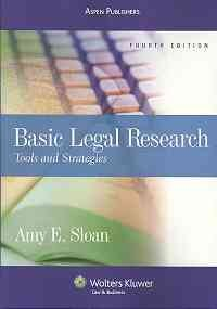 Basic Legal Research Tools and Strategies