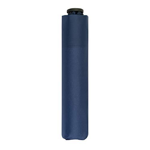 doppler Taschenschirm Zero,99 – Gewicht von nur 99 Gramm – Stabil – Windproof – 21 cm – Deep Blue