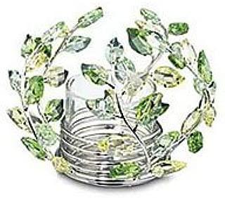 SWAROVSKI Crystal Leaves Tea Light