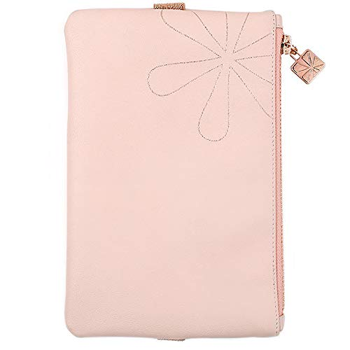 Erin Condren Planny Pack Designer Planner Pouch 8x5.25 - Cherry Blossom, Zippered Storage Fanny Pack with Elastic Band for Pens, Pencils, Small School or Office Accessories