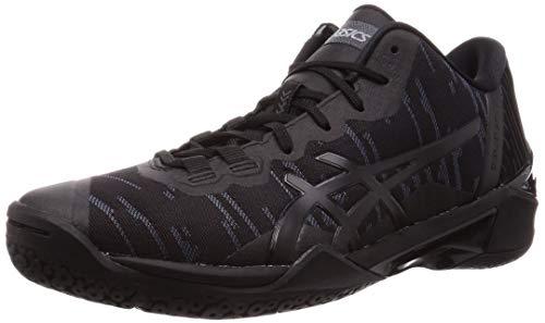 ASICS Unisex Adult Black Basketball Shoes-9 UK (44 EU) (10 US) (1061A021)