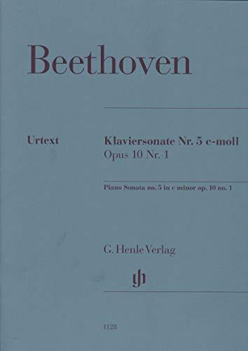 Beethoven, Ludwig van - Piano Sonata no. 5 c minor op. 10...