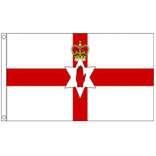 Irlanda del Norte Bandera. Bandera del condado.
