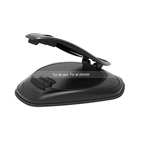 ZXH Home Tablero Universal Soporte de teléfono Clip Ajustable Soporte GPS Pantalla Soporte Soporte Soporte de Soporte Abeto para iPhone Soporte Teléfono Celular Montaje Coche