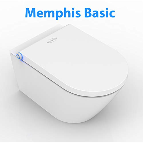 MEWATEC Marken Dusch-WC Komplettanlage Memphis Basic - Preis-Leistungs-Sieger