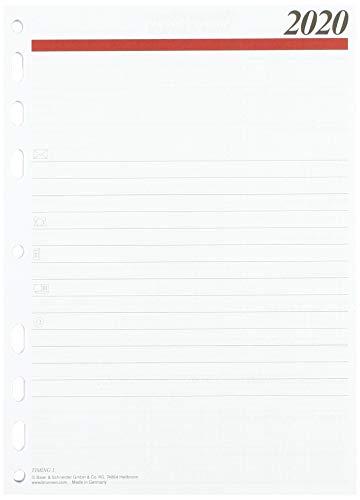 rido/idé 706591020, Wochenkalendarium/Zeitplansysteme, 2020, 2 Seiten = 1 Woche, Blattgröße 14, 8 x 20, 8 cm, A5