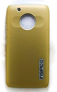 جراب خلفي لموبايل موتورلا موتو G5 بلس، لون ذهبي