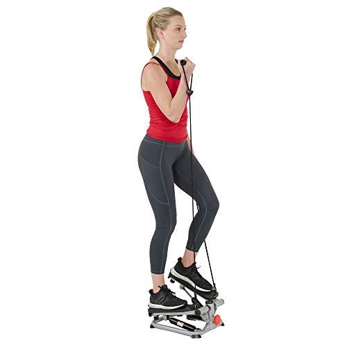 Sunny Health & Fitness Total Body Step Machine SF-S0978, Gray from Sunny Health & Fitness
