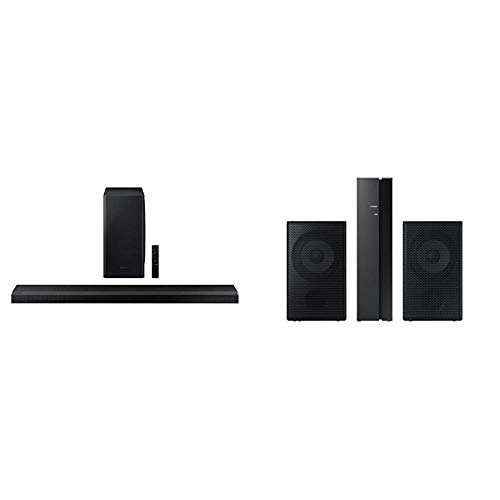 Samsung HW-Q800T/ZA Soundbar with Samsung SWA-9000S Rear Wireless Speaker Kit