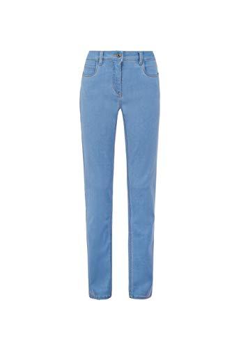 Million X Damen Jeans Victoria Powerstretch W46 L30, New Blue